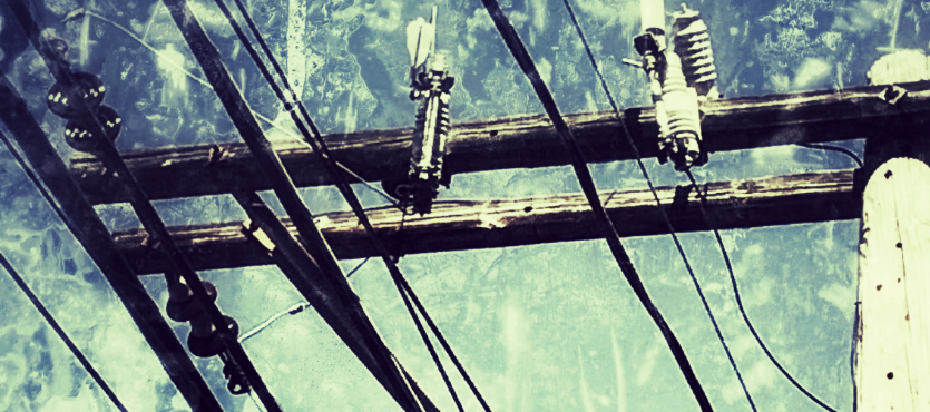 """through the wires"" by gbmediadesign"