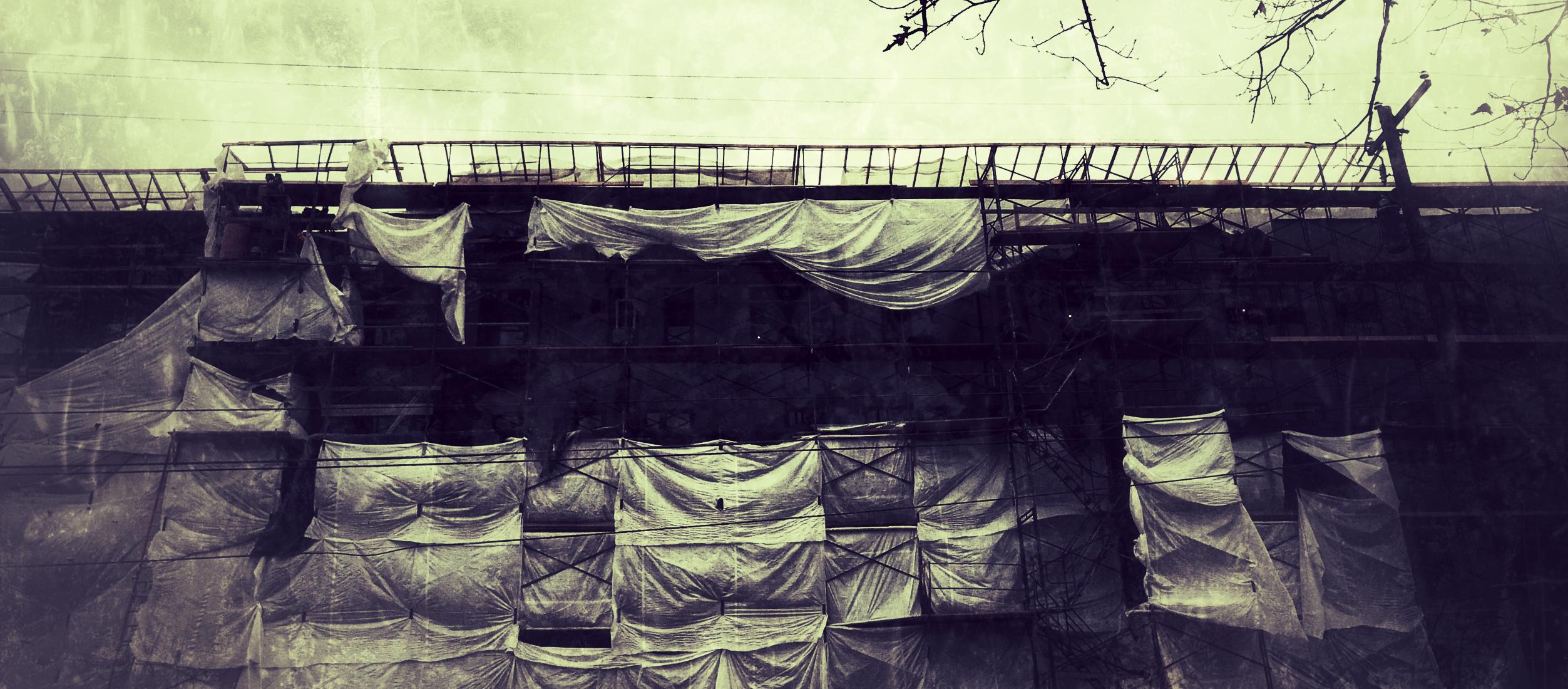 """""""scaffolding"""" by gbmediadesign"""