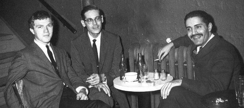 Bill Evans Trio at the Village Vanguard 1961 by Steve Schapiro