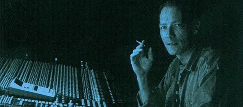 """Photo of Phill Brown from the cover of """"Are We Still Rolling"""" published by TapeOp books"""