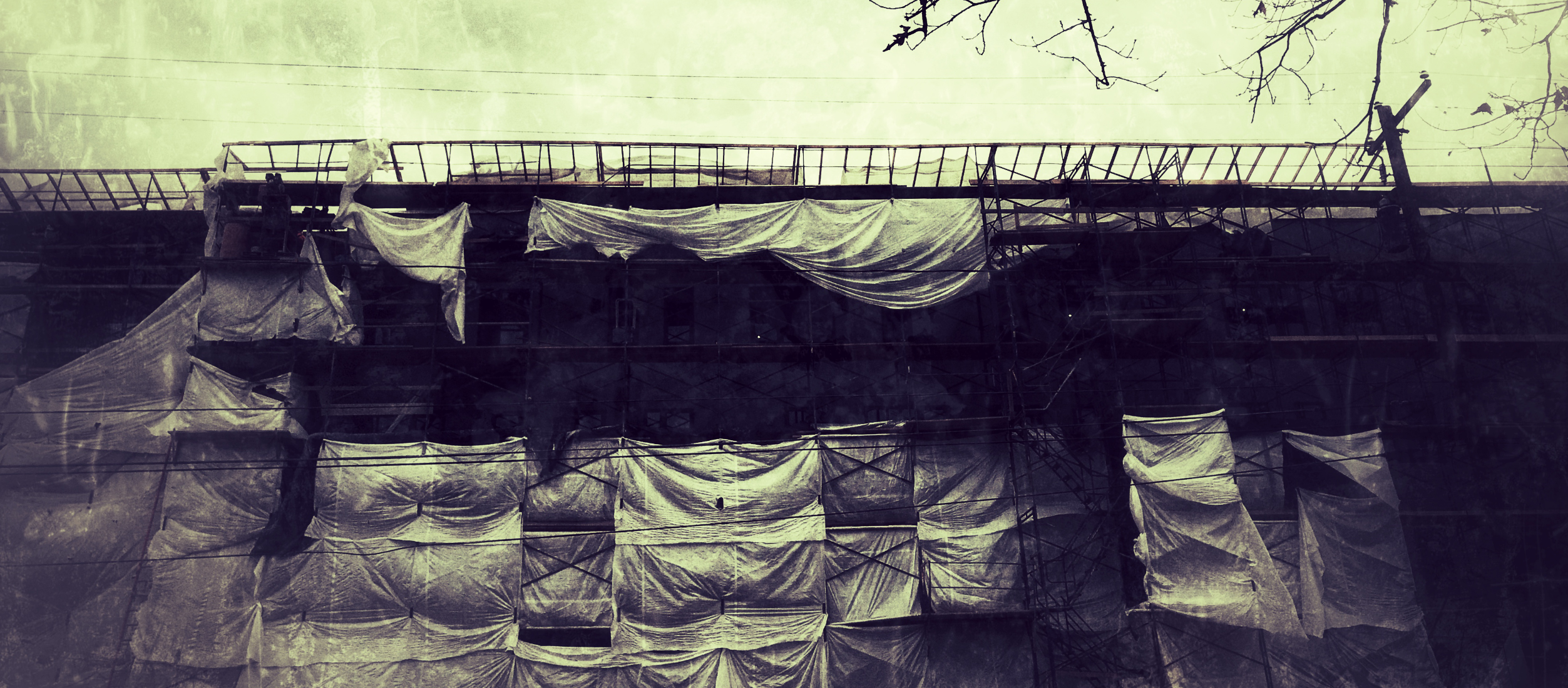 """scaffolding"" by gbmediadesign"